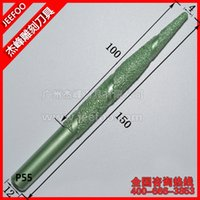 Wholesale Engraving Cnc Set - P55-12*4*100mm Stone Engraving CNC Diamond Tools BALL Nose End Mill Cutter Set, 3D Router Bits CNC Engraving Tool Mill Cutter