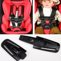 Barato Fechaduras De Fivela Do Cinto De Segurança-Safe Lock Car Criança Clip Buckle Latch Baby Safety Seat Strap Belt Harness Knots Belt Fastener Car Styling