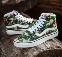 X Aape camouflage old skool Canvas Homens mulheres sapatos casuais sapatos tênis Unisex sapatos casual sapatos para homens mulheres zapatillas trainers Van
