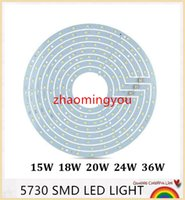 Wholesale Led Ceiling Light Plate W W W W W W W SMD led light sources with led driver AC85 V for ceiling lamp