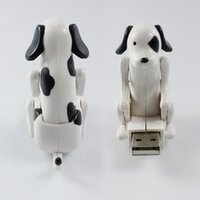 Wholesale Wholesale Christmas Stockings China - 60x30x60mm Funny Cute USB Humping Spot Dog Toy Pet Christmas High Quality