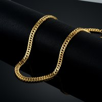 Wholesale thick gold chain wholesale online - whole saleVintage Long Gold Chain For Men Chain Necklace New Trendy Gold Color Stainless Steel Thick Bohemian Jewelry Colar Male Necklaces