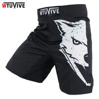 Wholesale Glory Box - Black Mma Fighting Glory Sports Fitness Breathable Tiger Muay Thai Boxing Shorts Boxing Clothing Short Muay Thai Mma