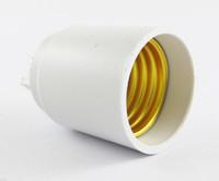 галогеновый переходник cfl оптовых-G9 мужчина к E27 женский гнездо базы LED галогенные CFL Лампа Лампа адаптер