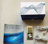 8 Mode TENS Unit Mini Digital Electronic Pulse Massager Therapy Muscle Full Body Акупунктура Магнитная терапия Теннисный массаж Silver blue GLO66