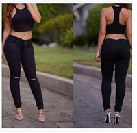 Wholesale Ladies Leggings Models - Boutique explosion models popular in Europe and America Hot lady Leggings
