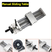 Wholesale C7 Ballscrew - CNC Manual Sliding Table Cross Slide X Y Z Axis Linear Stage SFU1605 Ballscrew C7 Linear Motion Actuator DIY Milling Engraving
