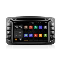 Wholesale Gps Mercedes Class C - Android 5.1 Car DVD Radio Player GPS Quad Core for Mercedes-Benz C-Class W203 S203 C209 W209 With Wifi 3G Bluetooth EX-TV CanBus