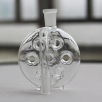 receveur de cendres achat en gros de-MINI CENDRIER Perc 14,4 18,8 mâle femelle 14mm 18mm Percolator Ash Catchers 10 styles à choisir pour les pipes en verre