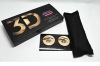 satıcı kirpikleri toptan satış-2018 sıcak satıcı Yeni 1030 sürüm 3D Fiber Lashes Su Geçirmez Çift Maskara 3D FIBER LASHES Set Makyaj Kirpik 1 takım ücretsiz kargo