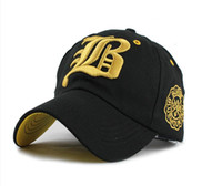 Wholesale Cappello Hip Hop - Letter New Brand golf Hat Hip Hop Fashion Baseball sports Cap Suede Snapback Gorras Hombre Solid Cappello For Men and Women