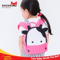 Wholesale Cartoon Bags For Kids Backpack - Cartoon Backpack for Girls Nohoo Waterproof Neoprene Cute Kindergarten Baby kids school bag