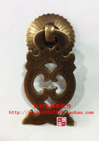 Wholesale bonus antique copper copper fittings of classical furniture of Ming and Qing Dynasties Accessories Dragon drawer cabin