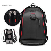 Wholesale Travel Camera Shoulder Bag - Black Nylon Waterproof Camera DSLR Outdoor Travel Backpack Bag for Sony Canon Nikon Pentax Olympus Cameras