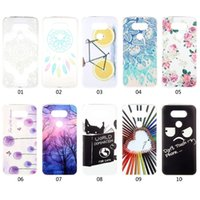 Wholesale Lg G2 Skin - For LG K7 K10 V10 G2 G3 G4 G5 Forest Dreamcatcher Touch My phone Sun Flower Soft TPU Silicone Case Dandelion Bike Pencil Love Cover Skin