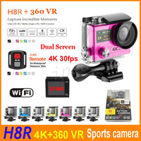 H8R Ultra HD 4K 30fps Vídeo Wifi Action Camera Controle Remoto 2 polegadas + 0.95
