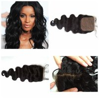 Wholesale Remi Body Wave - Mongolian indian remi hair silk top closure frontal piece body wave straight all available fast delivery time G-EASY