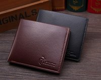 2016 Cheap New PU Leather Men Wallets bolsa bolsa de marca bifold em relevo Style Purse para homens 2016 New Hot selling!