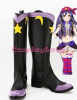 Wholesale Umi Sonoda - Wholesale-Newest Custom Made Japanese Anime Lovelive! Star Moon Flat ver Umi Sonoda Cosplay Shoes Boots For Halloween Christmas