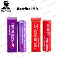 meilleure batterie de feu achat en gros de-Vaporisateur Bestfire MR 18650 Batterie 2500 mAh 3000 mAh 2600 mAh Meilleures Vape Incendie Batteries Rouge Violet Couleurs Fit Reuleaux RX200S RX200