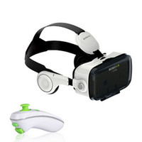 Wholesale New Original Video Games - New Xiaozhai BOBOVR Z4 3D VR Virtual Reality Headset 3D Video Game Private Theater with Headphone + Original Bluetooth controller