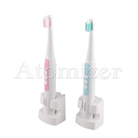 Wholesale Levels Wholesale - Lansung A1 Sonic Acoustic Wave Inductive Electric Toothbrush 5 Levels Brush Speed Regulation Clean System with 4pcs Brushhead 0610003