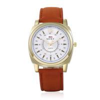 Wholesale platinum high end watches resale online - Fine New Style Men s explosion models outdoor sports men s wrist watch high end leisure belt table piece