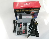 La migliore vendita Built-in 500 giochi classici per Nes Games PAL NTSC Mini AV uscita TV Video console di gioco portatile 8Bit Entertainment System