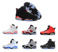 Wholesale Blue Roses For Sale - 2016 cheap air retro 6 man basketball shoes Infrared maroon Carmine Olympic oreo black Angry bull Sneaker For Online Sale size 8 - 13