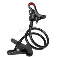 flexibler stand für mobil großhandel-360 Rotating Flexible Universal Handyhalter Stehen Lazy Bed Desktop Tablet Auto Selfie Stick Halterung 85 cm Handyhalter