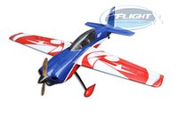 Wholesale Gas Remote Rc - Wholesale- Flight Model New Sbach 342 20cc Gas Airplane RC Remote Control 6 Channels Fixed Wing Plane