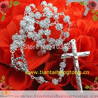 Rhinestone special rosaries - rosary bead necklace catholic rosary glass rosary rhinestone rosary special offer