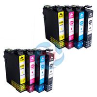 Wholesale Epson Cartridge Set - ink cartridges T2991 T2992 T2293 T2994(2 Sets) Compatible For Epson XP-442 XP-247 XP-445 XP-342 XP-245 XP-345 Printer