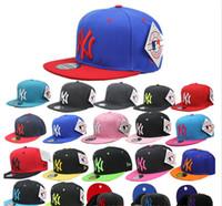 Wholesale Hat Dance Pattern - Fashion Street Dance Headwear Snapbacks Hip-Hop Caps Caps Casual Peripheral Adjustable Baseball Hats Sunshine Cap NY Letter Pattern