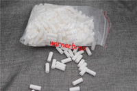 Wholesale Wholesale Sponge Filters - 500pcs bag free shipping USA China Cheap price cigarette Sponge head filter tip for women 8mm Disposable tobacco filter tips cotton pipes