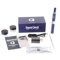 Wholesale G Dog - Snoop Dogg Starter Kit Dry Herb Vaporizer Dog g 650mah Battery Herbal Vape Hebe Vapor Kit Gift Box Package
