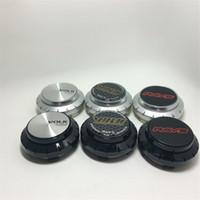 chromlochabdeckungen großhandel-65mm Radkappen für RAYS TE37 Radnabenkappen für alle Außendurchmesser 6CM des Nabenlochs