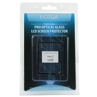 "Wholesale Dslr Lcd - FOTGA PRO Optical Glass Hard LCD Screen Protector For 3"" 3.0 Inch DSLR Camera"