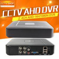 Wholesale Analog Cctv - Mini HD 960P 720P Recording 4Ch AHD-NH 1080N Or 960H (Analog) DVR Video CCTV 4 Channel AHD Digital Video Recorder HDMI Output