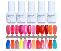 Wholesale New Nail Lacquer - 10PCS Gelish Nail Polish UV Gel Soak Off Gel Polish Nail Lacquer Varnish 100% Brand New Top Quality Long-lasting Colors 168 Color 5ml