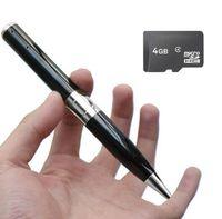 Wholesale Spy Camera Pen Hd 4g - 4GB HD Spy Pen Camera DVR Audio Video Recorder Camcorder Mini DV KY