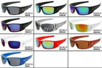 Wholesale Top Cycling Sunglasses - Fast Shipping Top Quality 10Colors Men's Women's Designer Sun Glasses Fashion Style Outdoor Cycling Eyewear Goggles Fuel cell Sunglasses.