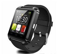 chinesische telefone ios großhandel-2016 neue Explosion Modelle Bluetooth U8 Smart Watch Sport läuft Timing IOS Telefon verbunden Armbanduhr verfügbar Englisch und Chinesisch