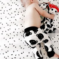 Wholesale Cute Infant Tights - 2016 New Infants Boys PP Pants Autumn Kids Bear Printed Tights Leggings Cute Baby Girls Cotton Harlan Trousers