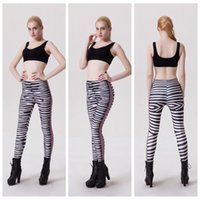 Wholesale Leggings Leopard Black - Leopard Sports Pants Jogging Fitness Yoga Leggings Track Bodybuilding Slim Quick Dry Elastic Long Trousers High Waist Body Sculpting LNSLgs