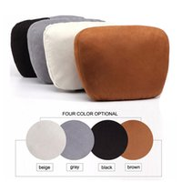 Wholesale Car Luxury Cushion - LUNDA Luxury Car seat headrest Mercedes S Class design comfortable soft neck pillow headrest cushions car seat cover protector pillows