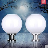 Wholesale Residential Solar Led Lamps - Solar lamp outdoor super bright LED road lamp spherical wall lamp round landscape garden lamp residential lamp