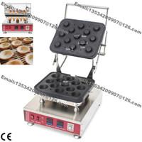 mini fer électrique achat en gros de-Livraison Gratuite Commercial Antiadhésif 110v 220v Électrique 13 pcs Mini Pâtisserie Ronde Tarte Tartelette Tarte Shell Machine Maker Fer