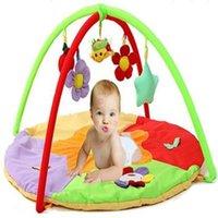bebé musical jugando tapete al por mayor-Dibujos de algodón bebé Jugar niños Alfombra Alfombra de piso para la Educación de la alfombra bebé estera del juego de juguete musical de Mat Childre