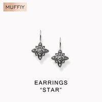 Wholesale Deals Sterling Silver Jewelry - Wholesale-Flower Motif Clip Earrings,Thomas Style Good Jewelry For Women,2016 Ts Gift In 925 Sterling Silver,Super Deals